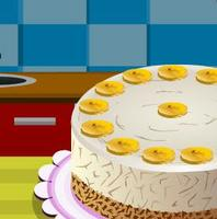 Banana Cream Cheese Cake Icon