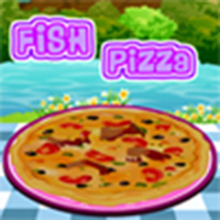 Fish Pizza Icon