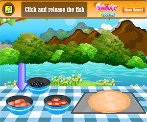Fish Pizza Screenshot One