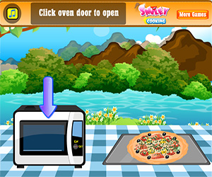 Fish Pizza Screenshot Two