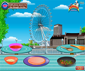 London Pizza Screenshot Two