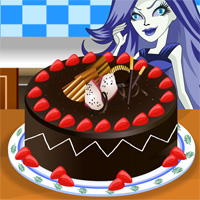 Monster High Chocolate Cake Icon