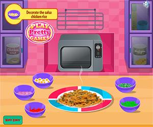Chicken With Salsa Rice Screenshot