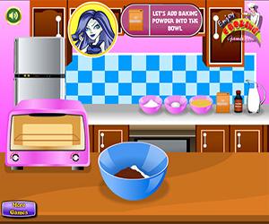 Monster High Chocolate Cake Screenshot One