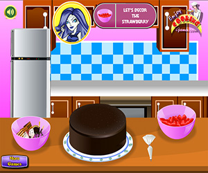 Monster High Chocolate Cake Screenshot Two