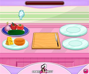 Veggie Burger Screenshot One