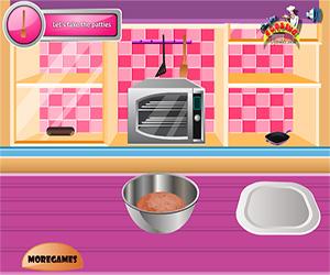 Yummy Hamburger Cooking Screenshot One