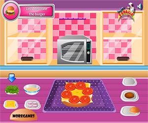 Yummy Hamburger Cooking Screenshot Two